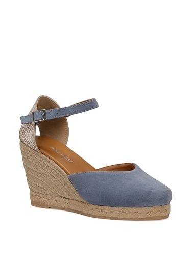 Nine West Sandalet Mavi